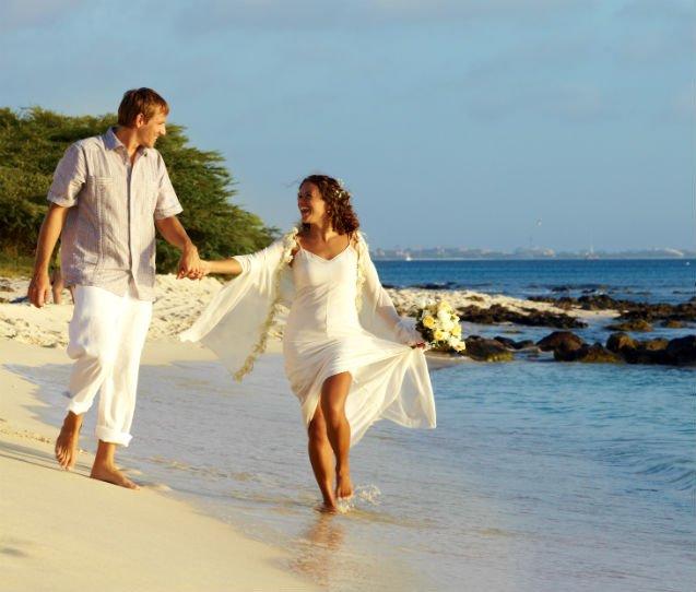 casamento e lua de mel em Aruba