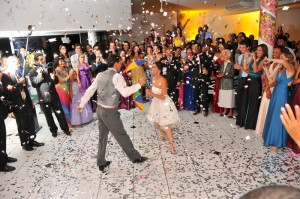 festa de casamento diferente