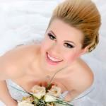 Maquiagem de casamento para noivas loiras