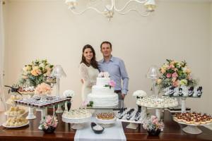 casamento civil bolo e jantar