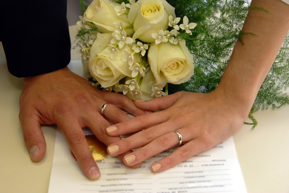 Cinco passos para organizar casamento civil - passo a passo, dicas