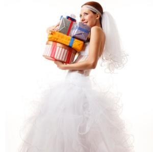 Presentes para casamento tradicionais de noivas