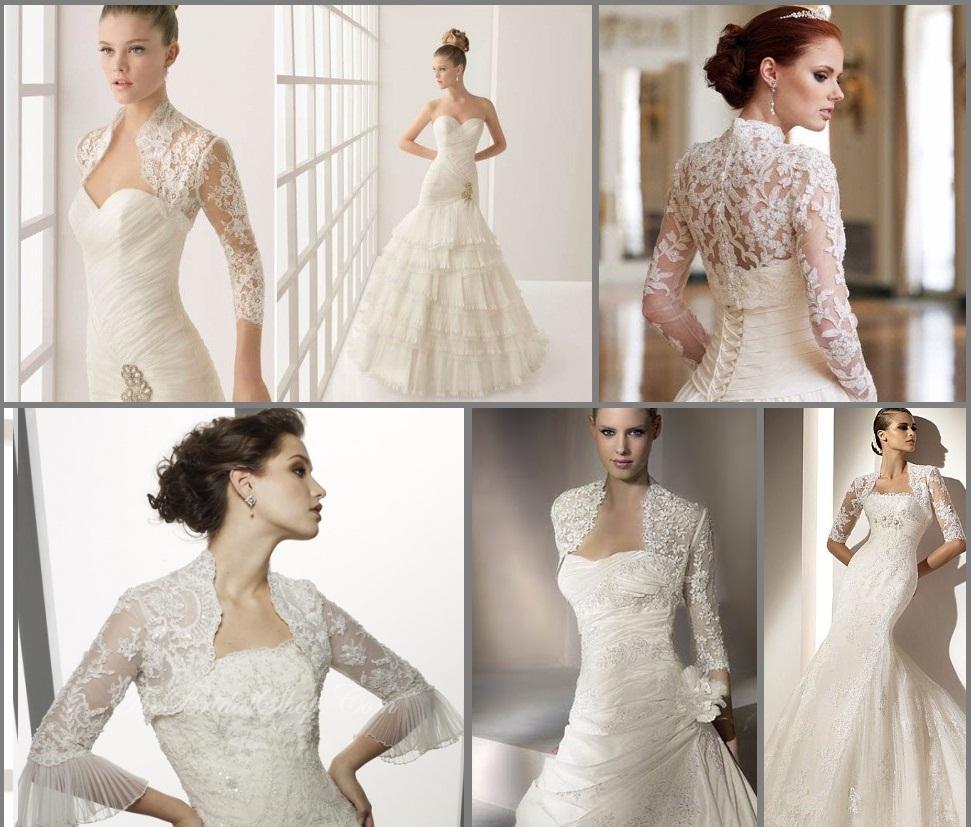 Vestidos de noiva de renda - dicas, fotos, passo a passo