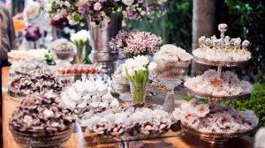 Doces de casamento - quantos compro? variedades, como calcular,como montar a mesa