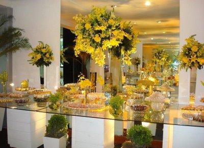 Fotos de decoração de casamento : escolha a cor correta - dicas, passo a passo