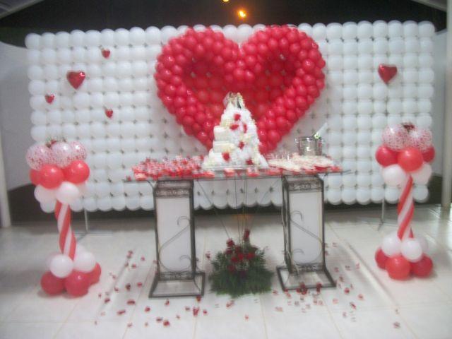 Decoraç u00e3o de casamentos com balões,última tendencia para  -> Decoração Balões Casamento