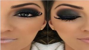 maquiagem para noivas - olho preto
