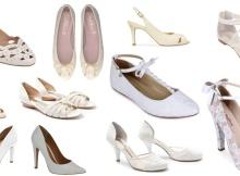 Os sapatos lindos para o dia do Casamento