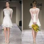 Vestidos de noiva curto – opção para as mulheres modernas