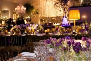 decoracao violeta
