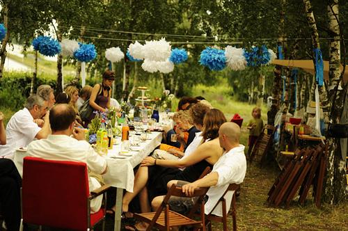casamento no quintal